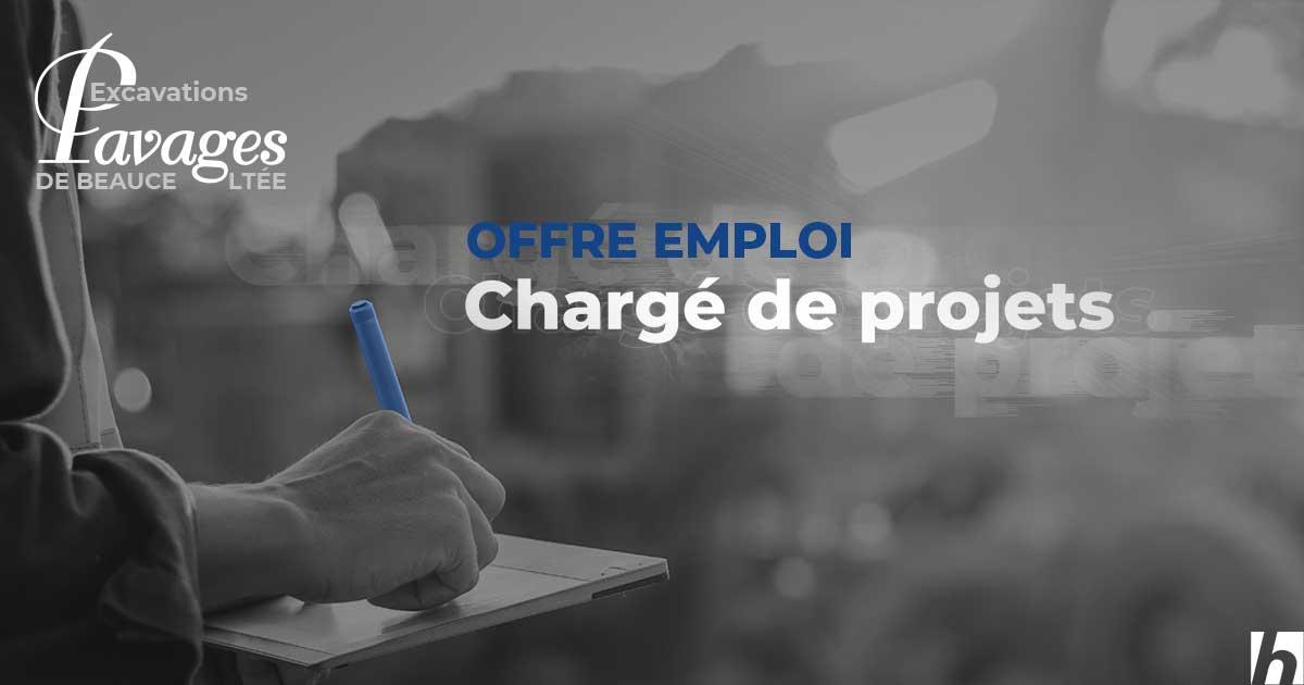 Offre d'emploi – Chargé(e) de projets
