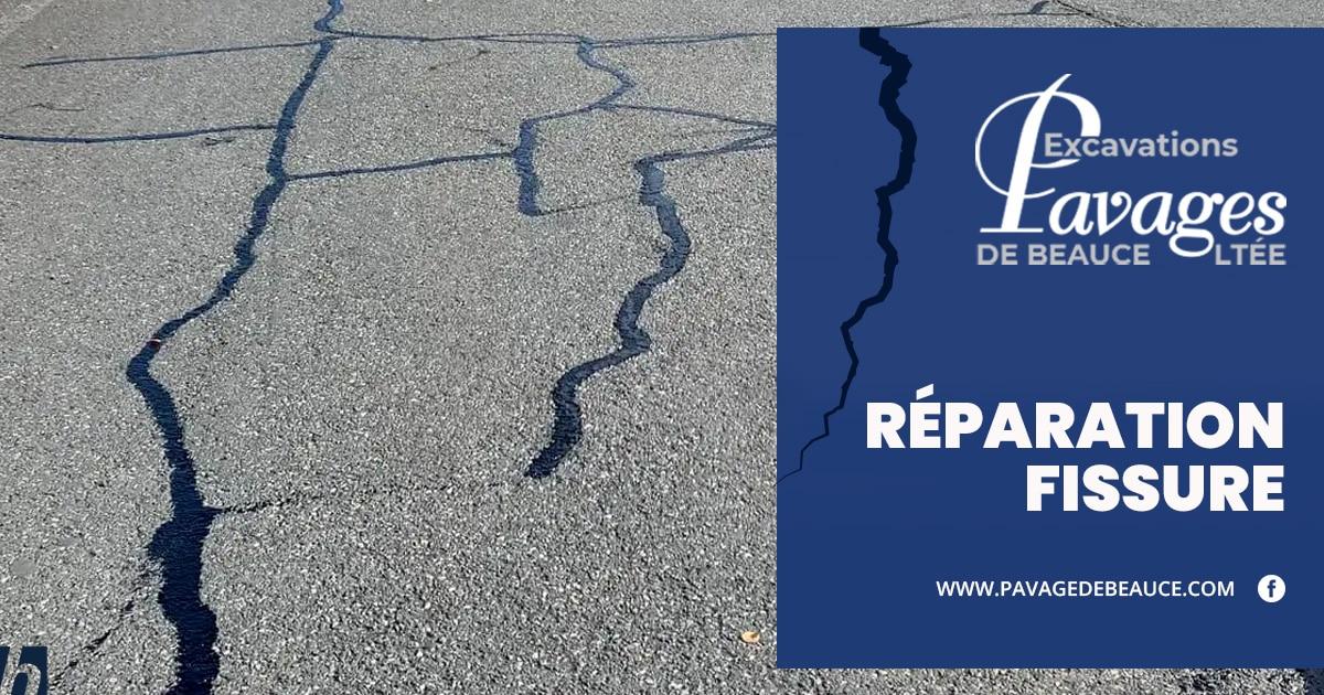 L'importance de la réparation de fissures